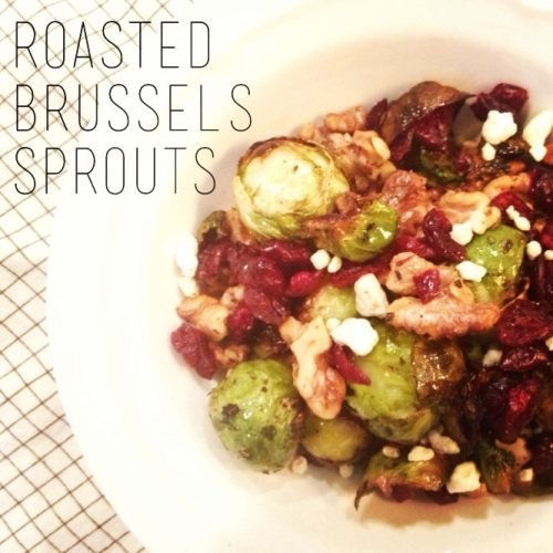 Made with Love: Roasted Brussels Sprouts