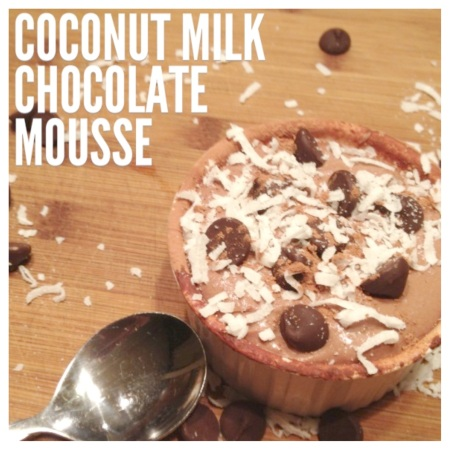 Made with Love: chocolate mousse